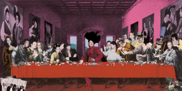 Pam Leonardo, Last Supper col 8 9 5