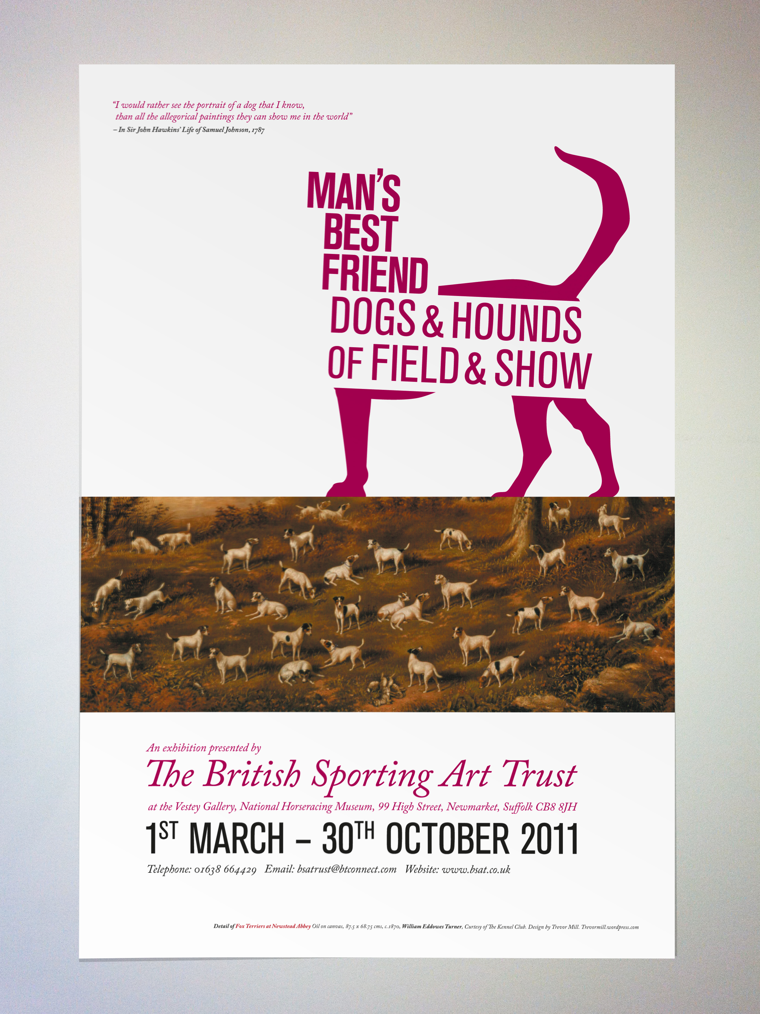 dogs  u0026 hounds of field  u0026 show poster
