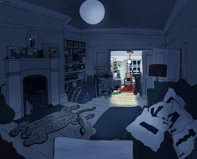 living room 3 between