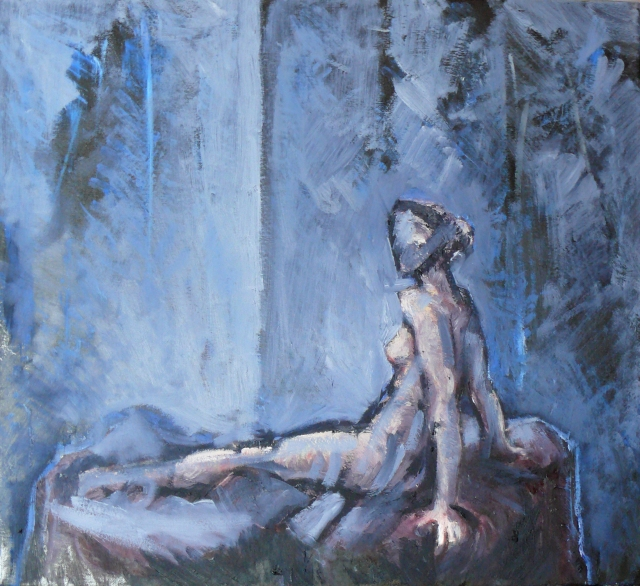 seated dancer painting 3