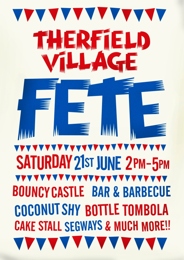 Therfield village fete 2014 v1
