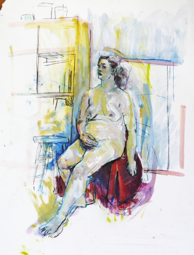 curvy lady seated 1