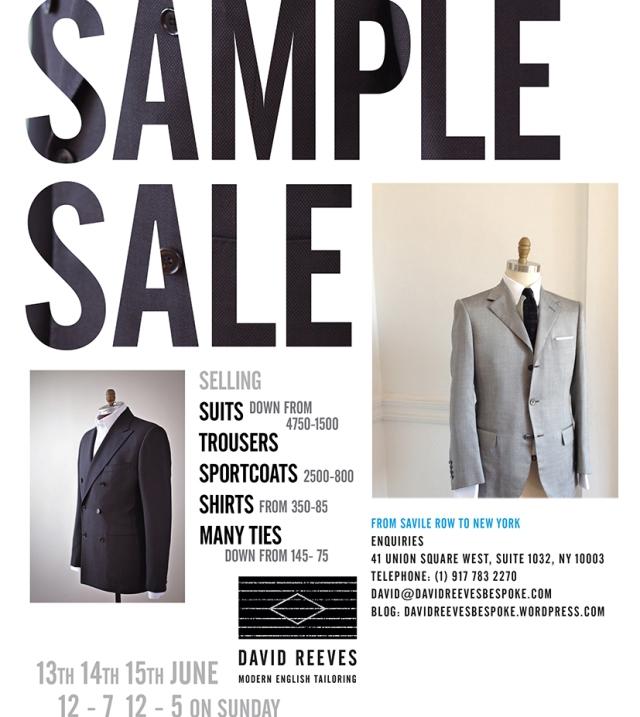 Sample sale ad Summer 2014b