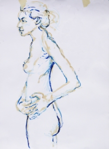 Thin lady A