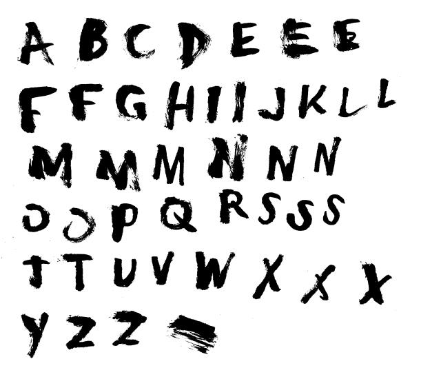 the idiot typeface b