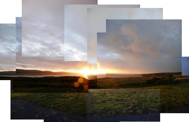 Sunset at Dunvegan Skye sm