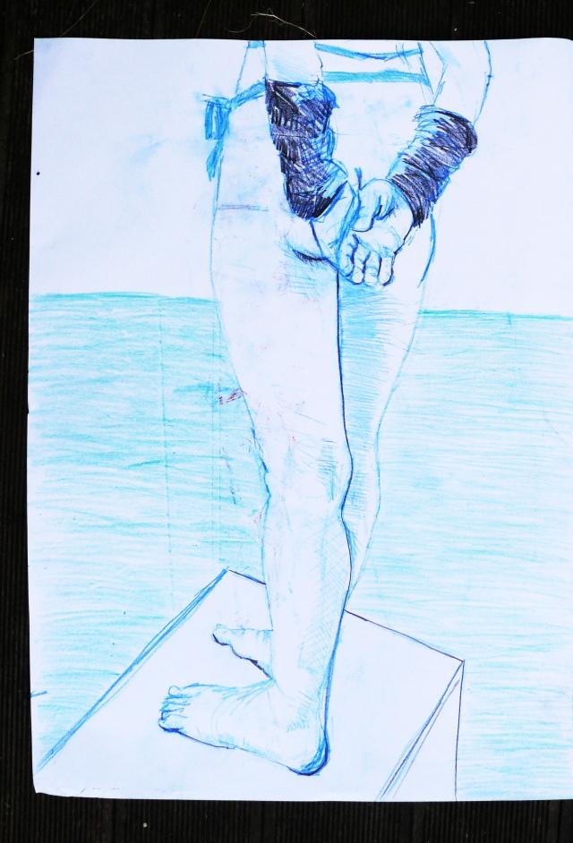 Zabludowicz Collection standing legs