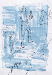 Colin erly sketches