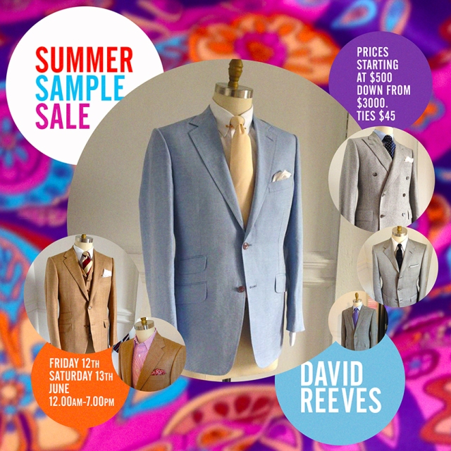 David reeves Summer Sale v2 sm