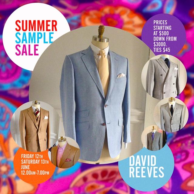 David reeves Summer Sale v2 sm