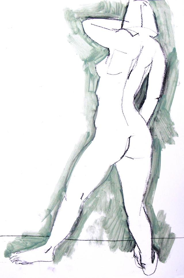 Florencia standing Gaudia Brezska style