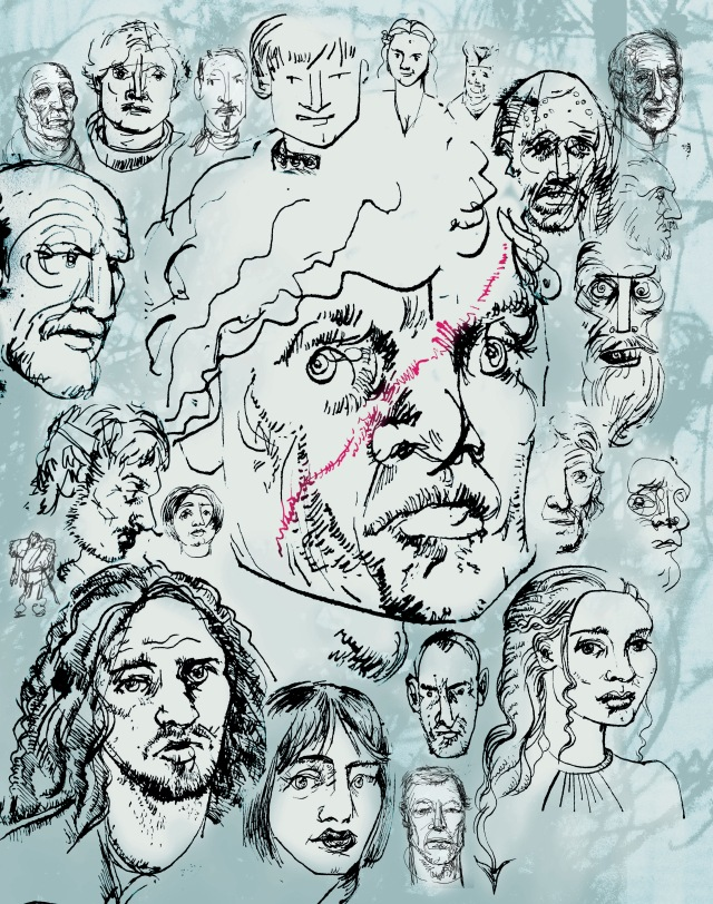 Game of THrones sketches-3