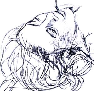 Gamze reclining portrait
