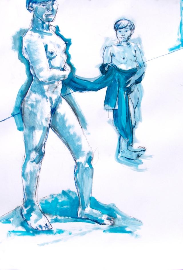 Yuka in blue x2