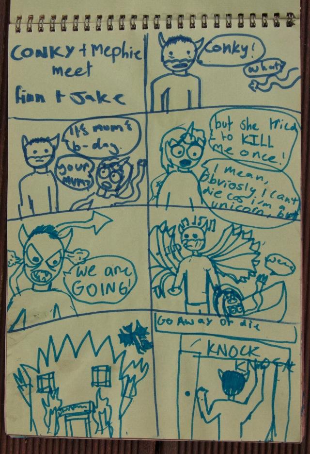 IM comic