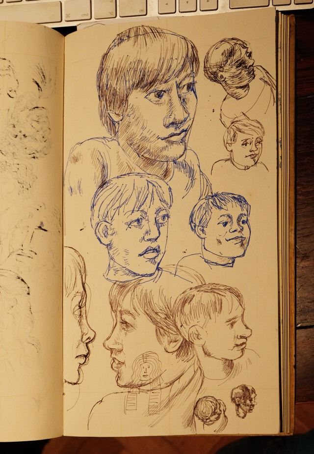 Kid sketches