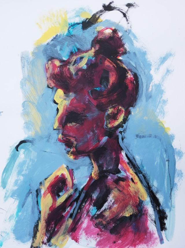 Morgan big brush portrait