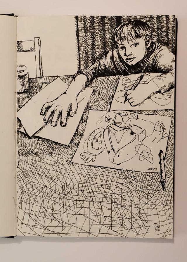 Eddy sketching