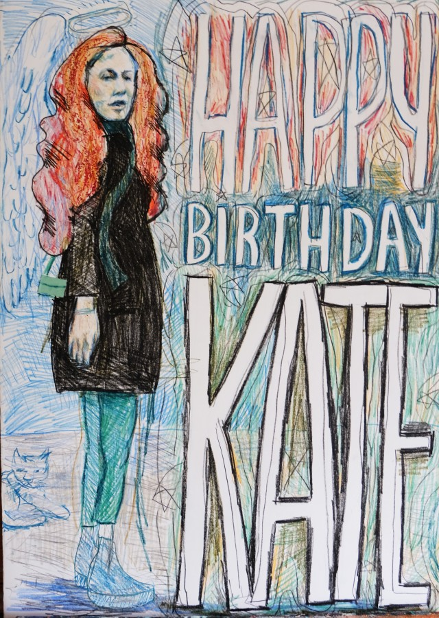 Kate birthday card