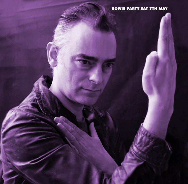 Trev Bowie Party 7th May Purple version