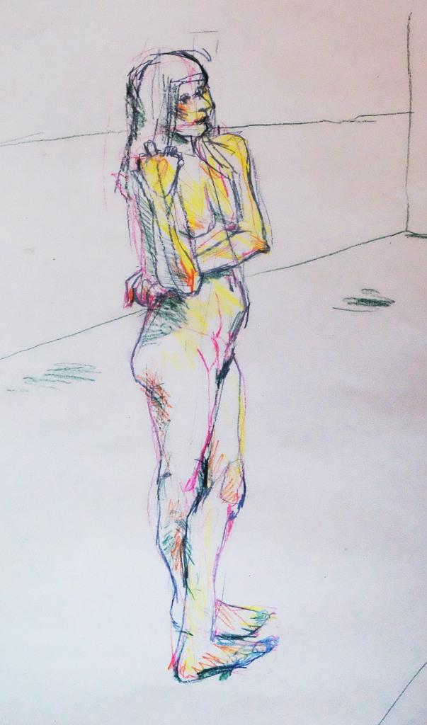 angular-lady-on-standing-sugar-paper