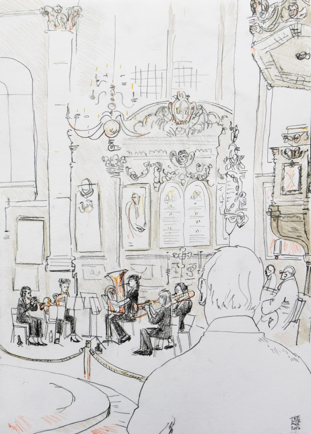 Quintetta at St Stephen Walbrook Church 210317