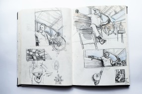 two page sketches