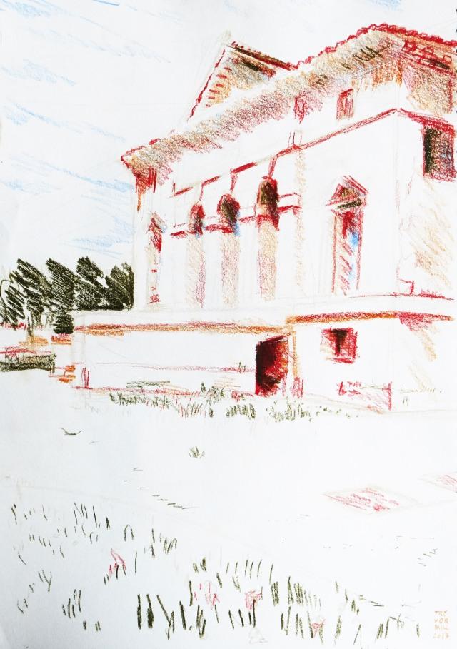 Villa front 2