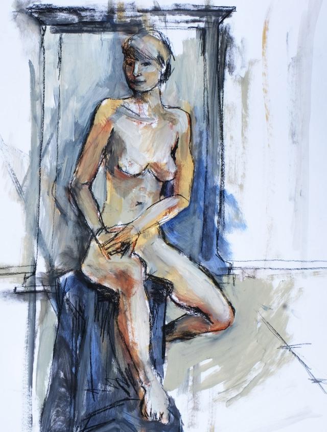 actress sitting