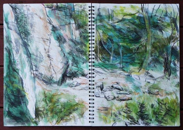 Padley Gorge Quarry 2