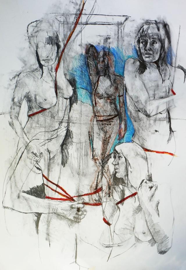 5x15 minute drawings