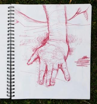 Actors hand