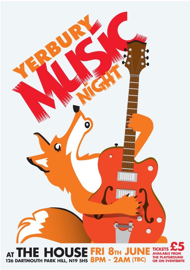 Yerbury Music Night poster v1