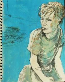 Alex in Padley Gorge BLUE 230718