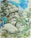 Alex Sitting in Birchin Edge 240718