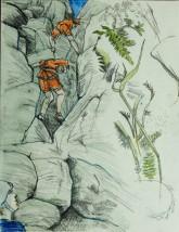 Eddy x2 Climbing in Birchin Edge 240718