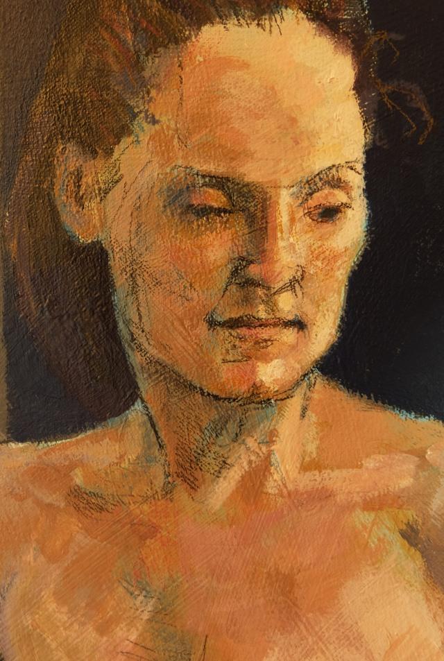 Repeat Performance portrait detail