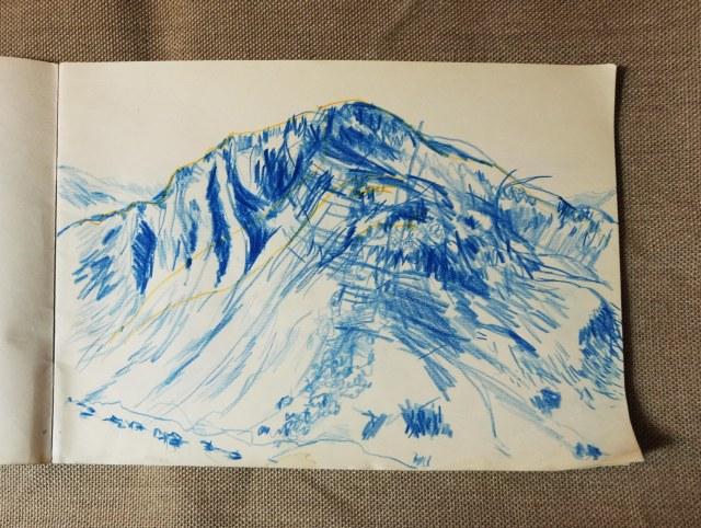Mountain near Snowden 1 Wales Aug 2018