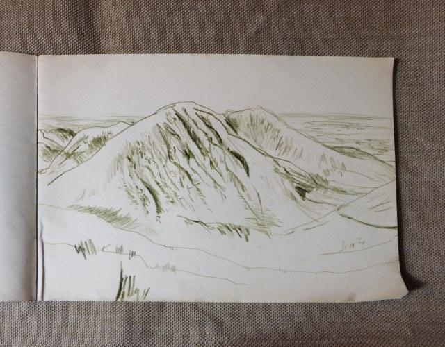 Mountain near Snowden 2 Wales Aug 2018