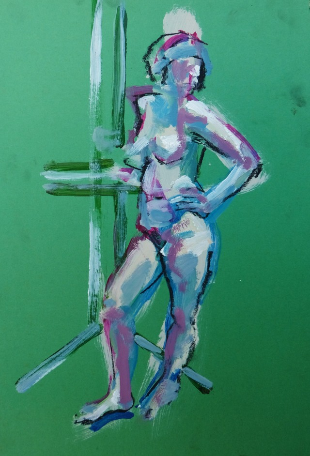 15 minute nude on green card
