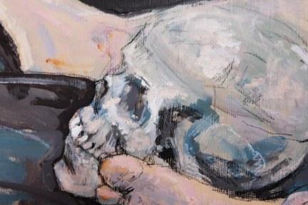 Skull and feet detail 2